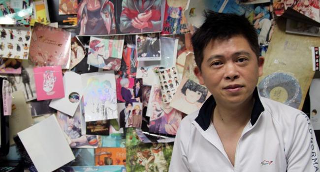 同人們暱稱「謝哥」的千業快速影印社負責人謝志松(攝影:吳致良)