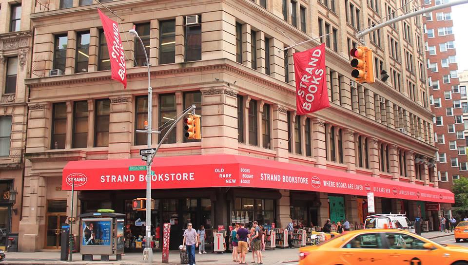 Strand書店(取自Strand Book Store粉絲專頁)