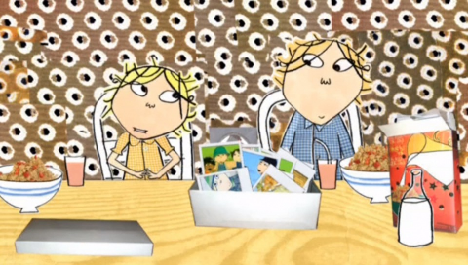 暢銷童書《查理與蘿拉》改編的動畫亦有非常高的點閱率。(圖片取自youtube)