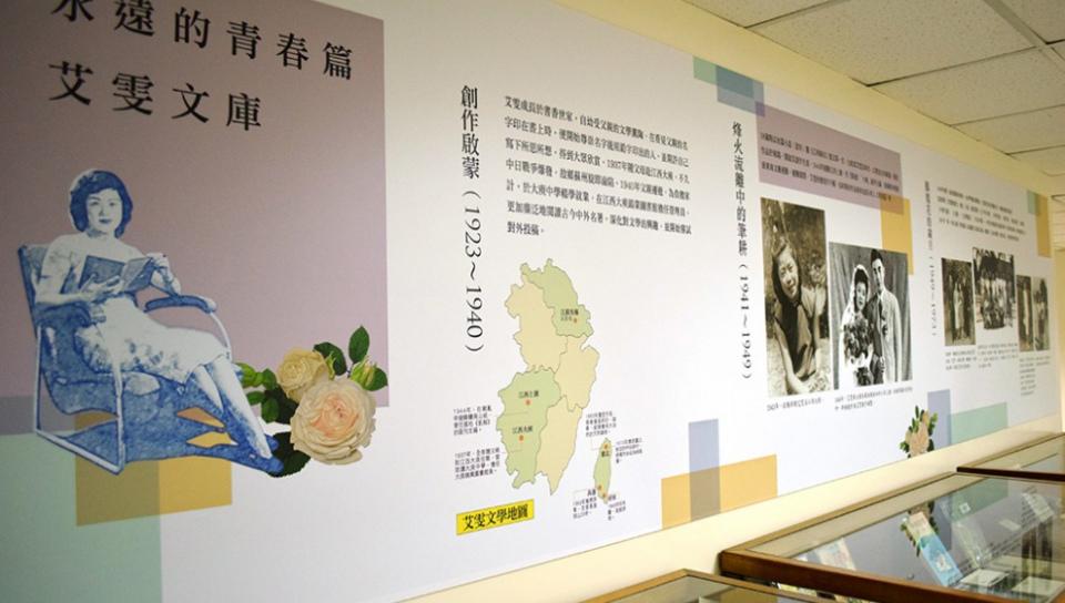 「作家文庫」展出文藝資料中心珍貴特藏(文訊提供)