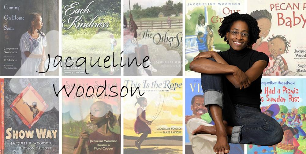 美國童書與青少年書的作家賈桂琳.伍德生(Jacqueline Woodson)榮獲林格倫兒童文學獎。(圖片皆取自官網)