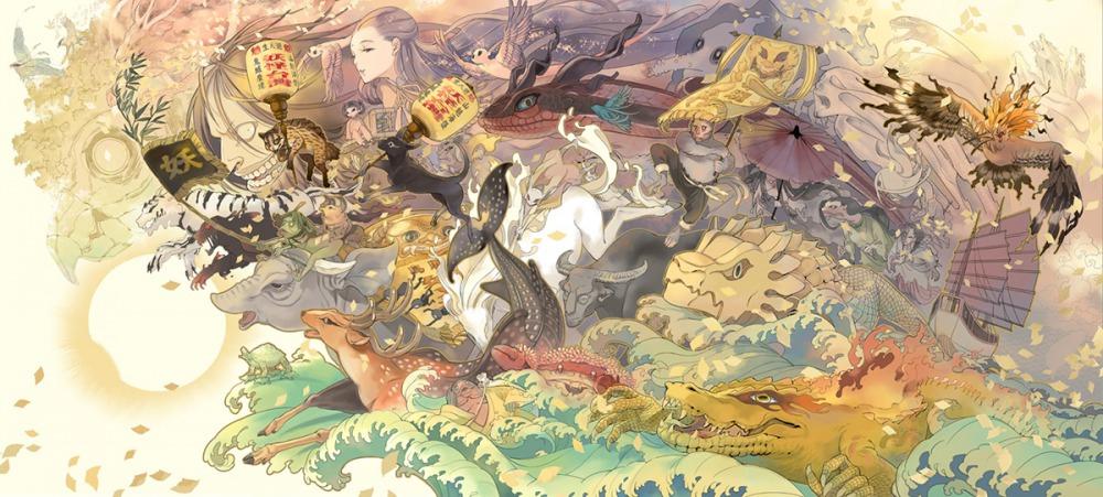圖片來源:《妖怪台灣》,張季雅繪。(聯經出版提供)