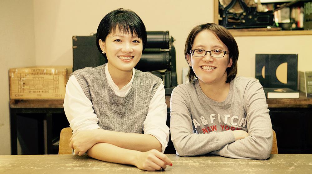 左起為作家吳娮翎、臨床心理師南琦