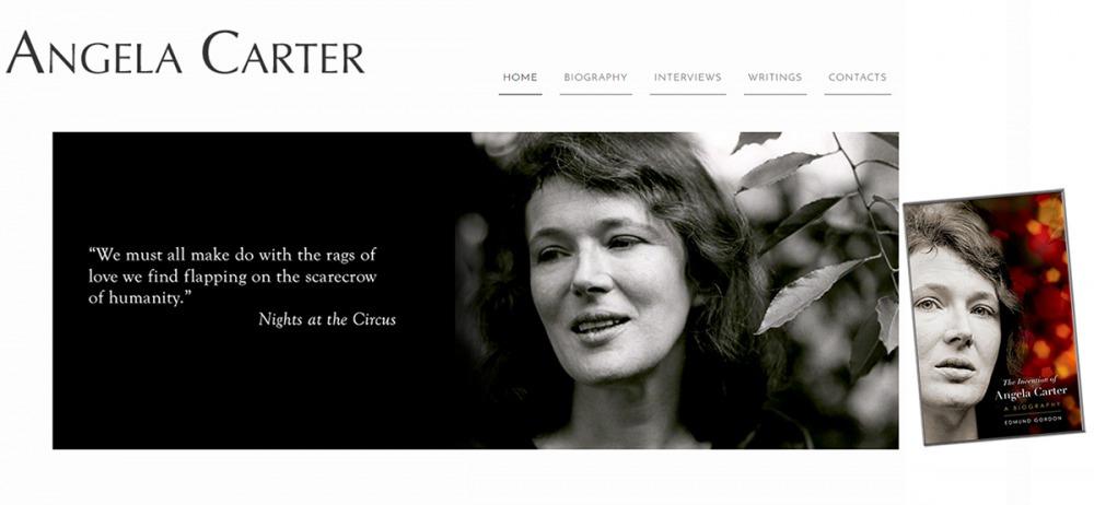 英國女作家安潔拉卡特傳記問世。(圖片取自官網)