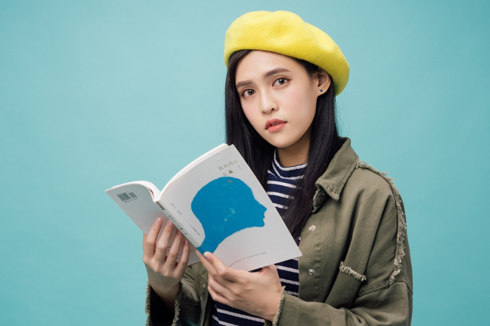 夏宇童:「我的2017年度好書是阿米詩集《我的內心長滿了魚》,那你的呢?」
