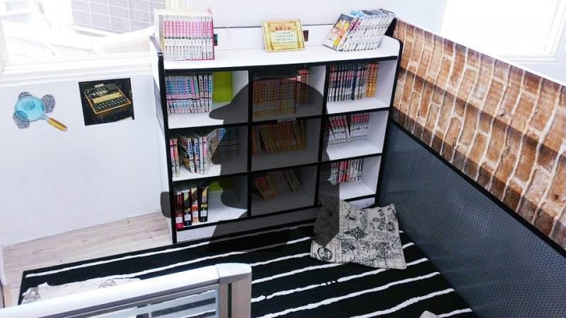 貝克街小書房(背景取自清水圖書館FB)