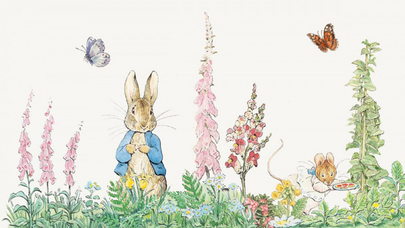 (擷自Peter Rabbit FB專頁)