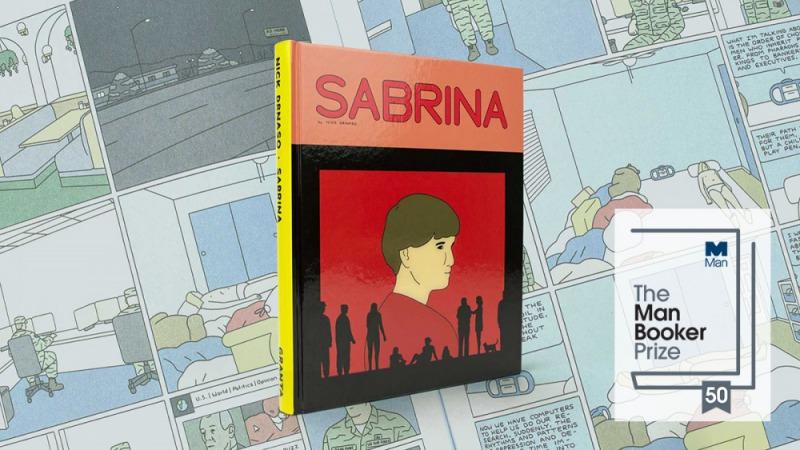 尼克.德納索的《莎賓納》是首部入圍曼布克獎的圖像小說(取自twitter)