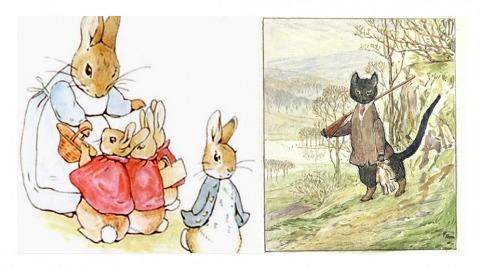 圖片取自Beatrix Potter官方網站