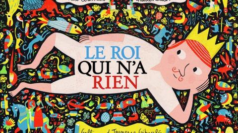 《什麼都沒有的國王》(Le Roi Qui N'a Rien)書封