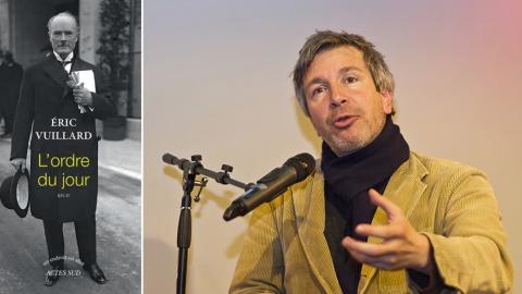 圖右:龔固爾獎新科得主Eric Vuillard。圖片來源:wiki