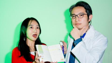 左為月熊出版總編輯楊佩穎,右為電腦玩物站長Esor