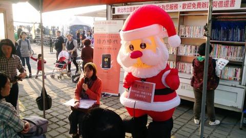 聖誕前夕,2017Openbook美好生活書《牠鄉何處》作者黃宗潔在淡水為讀者導讀。